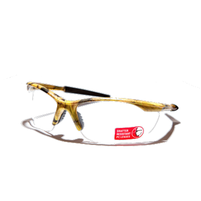 Brentoni Camo Frame Clear Glass