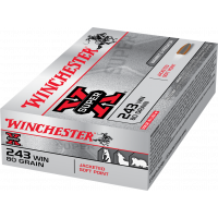 Winchester .243 Win 80gr Jacketed Soft Point