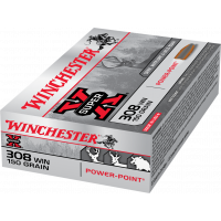 Winchester .308 Win Mag 150gr Power Point
