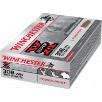 Winchester .308 Win Mag 180gr Power Point