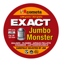 Cometa 5.5 (.22) Exact Jumbo Monster Pellets (200pcs)