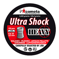 Cometa 5.5 (.22) Ultra Shock Heavy Pellets (150pcs)